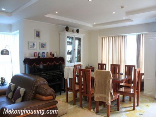 Luxury furnished apartment with 4 bedrooms for rent in L1 tower, Ciputra hanoi 6