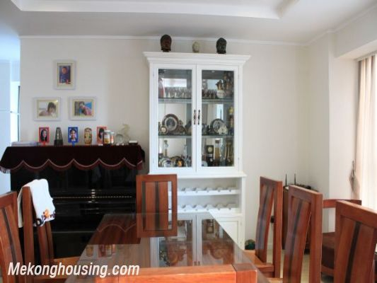 Luxury furnished apartment with 4 bedrooms for rent in L1 tower, Ciputra hanoi 7