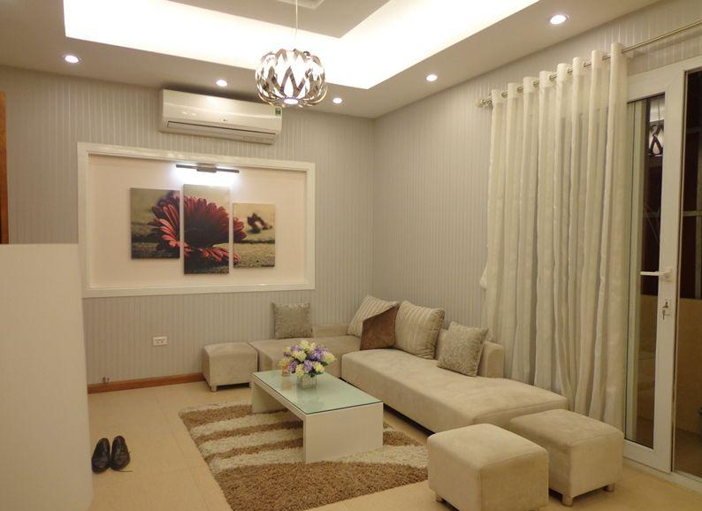 Luxury serviced apartment with 2 bedrooms for rent in Tran Phu, Ba Dinh, Hanoi