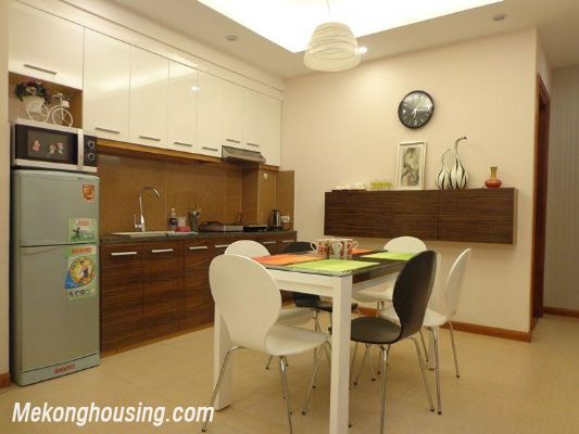 Luxury serviced apartment with 2 bedrooms for rent in Tran Phu, Ba Dinh, Hanoi 3