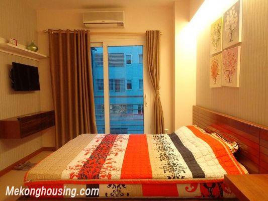 Luxury serviced apartment with 2 bedrooms for rent in Tran Phu, Ba Dinh, Hanoi 5