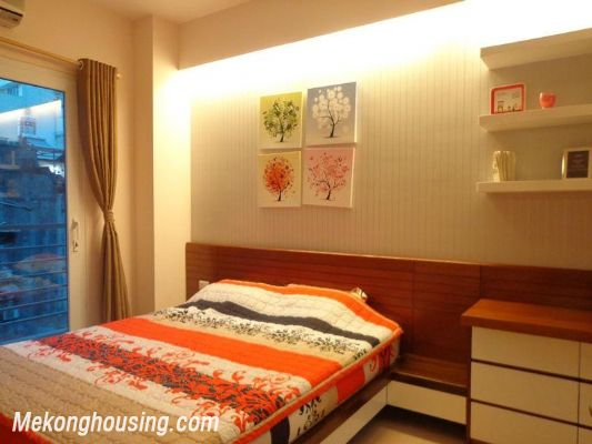 Luxury serviced apartment with 2 bedrooms for rent in Tran Phu, Ba Dinh, Hanoi 6