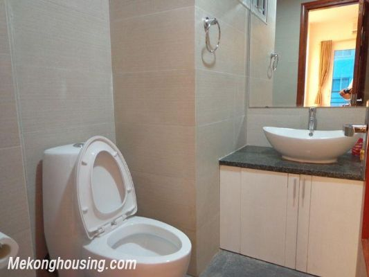 Luxury serviced apartment with 2 bedrooms for rent in Tran Phu, Ba Dinh, Hanoi 7