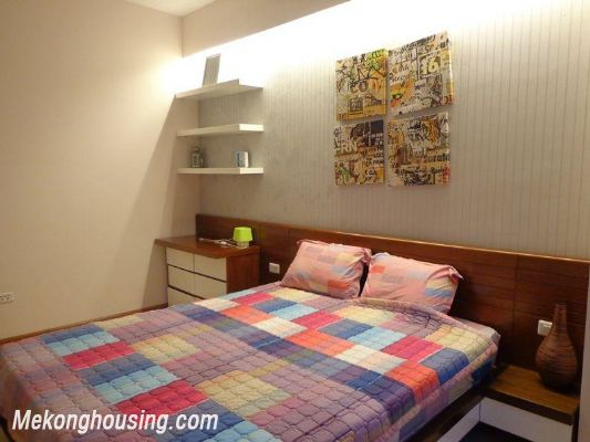 Luxury serviced apartment with 2 bedrooms for rent in Tran Phu, Ba Dinh, Hanoi 8