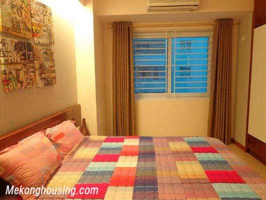Luxury serviced apartment with 2 bedrooms for rent in Tran Phu, Ba Dinh, Hanoi 9