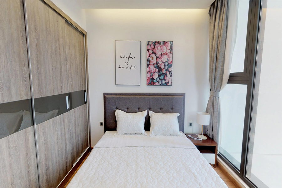 Modern 1 bedroom apartment with balcony in Vinhomes Metropolis, 27 Lieu Gia street 6