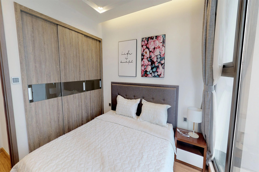 Modern 1 bedroom apartment with balcony in Vinhomes Metropolis, 27 Lieu Gia street 7