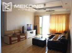 Modern 153 m2 apartment with 4 bedrooms for rent in E1 tower, Ciputra Hanoi