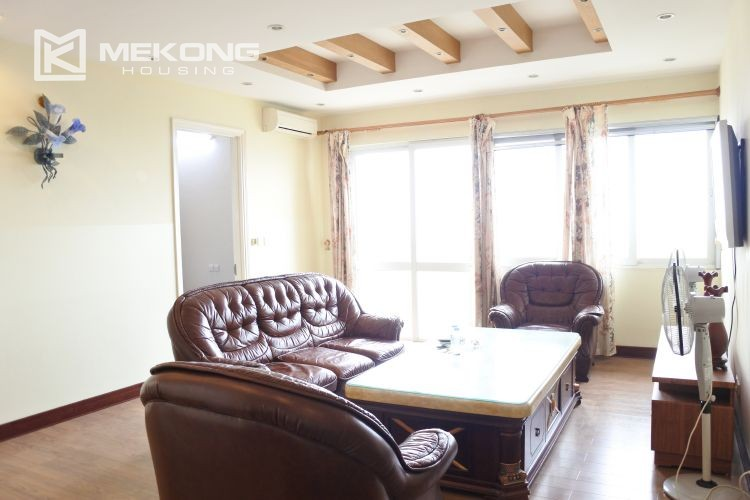 Modern 153 m2 apartment with 4 bedrooms for rent in E5 tower, Ciputra Hanoi 2