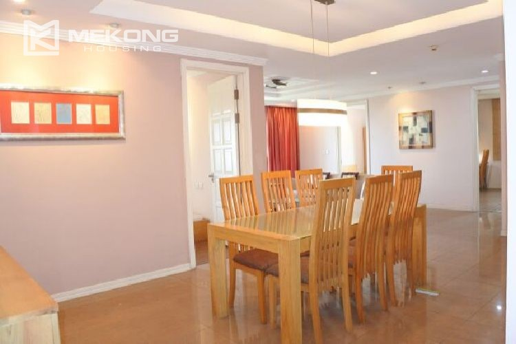 Modern affordable apartment with 4 bedrooms for rent in E1 tower  Ciputra  Hanoi 1. Modern affordable apartment with 4 bedrooms for rent in E1 tower