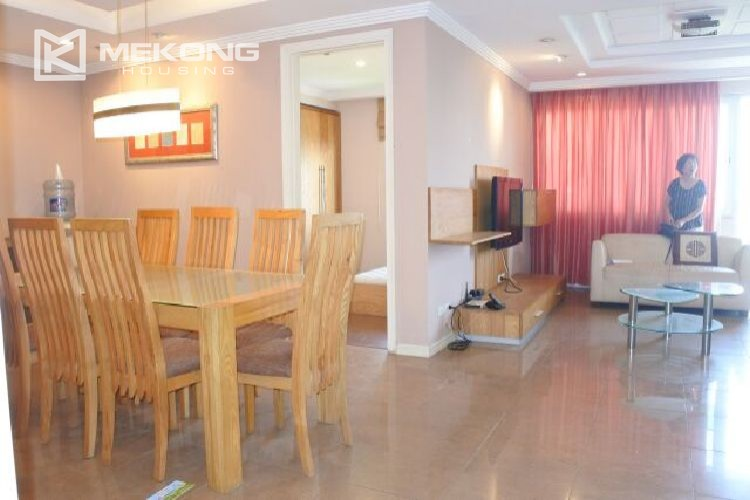 Modern affordable apartment with 4 bedrooms for rent in E1 tower  Ciputra  Hanoi. Modern affordable apartment with 4 bedrooms for rent in E1 tower