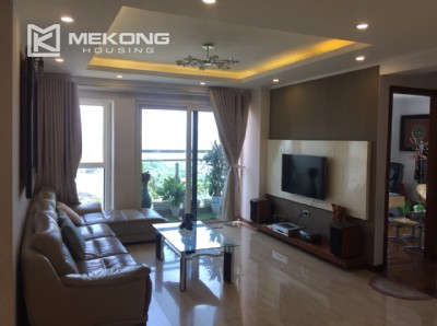 Modern and good quality apartment for rent in L tower Ciputra