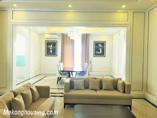 Modern and luxurious villas for rent in Hoa Sua area, Vinhomes riverside, Long Bien, Hanoi 1