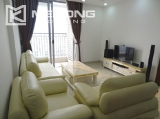 Modern apartment with 2 bedroom and big balcony for rent in Vinhomes Nguyen Chi Thanh