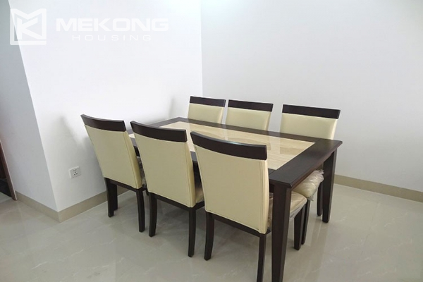 Modern apartment with 2 bedroom and big balcony for rent in Vinhomes Nguyen Chi Thanh 6