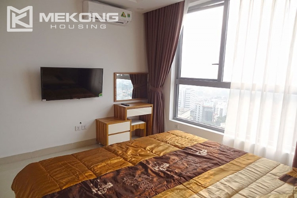 Modern apartment with 2 bedroom and big balcony for rent in Vinhomes Nguyen Chi Thanh 10