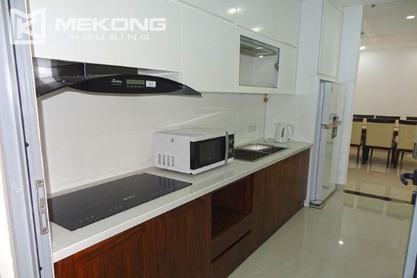 Modern apartment with 2 bedroom and big balcony for rent in Vinhomes Nguyen Chi Thanh 7