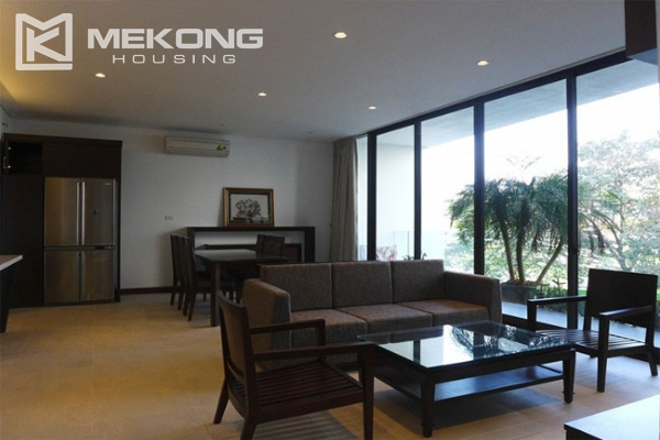 Modern apartment with 2 bedroom and big balcony for rent in Yen Phu village, Tay Ho 2