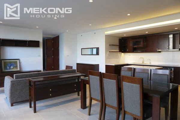 Modern apartment with 2 bedroom and big balcony for rent in Yen Phu village, Tay Ho 3