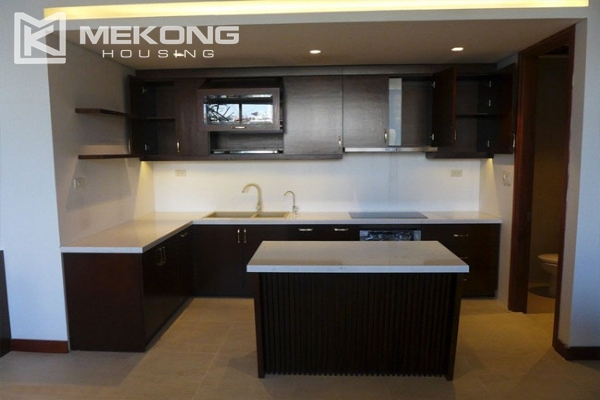 Modern apartment with 2 bedroom and big balcony for rent in Yen Phu village, Tay Ho 4