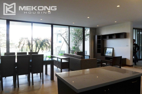 Modern apartment with 2 bedroom and big balcony for rent in Yen Phu village, Tay Ho 6