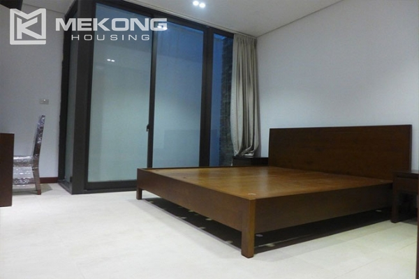 Modern apartment with 2 bedroom and big balcony for rent in Yen Phu village, Tay Ho 12