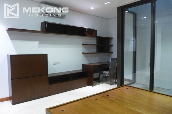 Modern apartment with 2 bedroom and big balcony for rent in Yen Phu village, Tay Ho 13