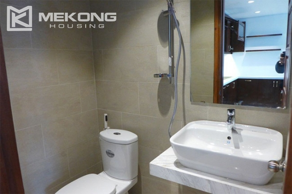 Modern apartment with 2 bedroom and big balcony for rent in Yen Phu village, Tay Ho 7