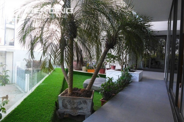 Modern apartment with 2 bedroom and big balcony for rent in Yen Phu village, Tay Ho 8