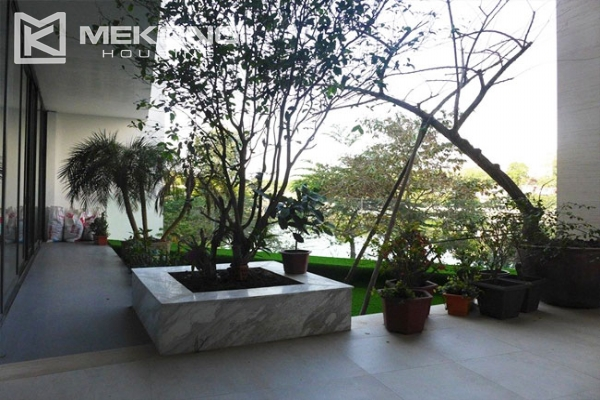 Modern apartment with 2 bedroom and big balcony for rent in Yen Phu village, Tay Ho 9
