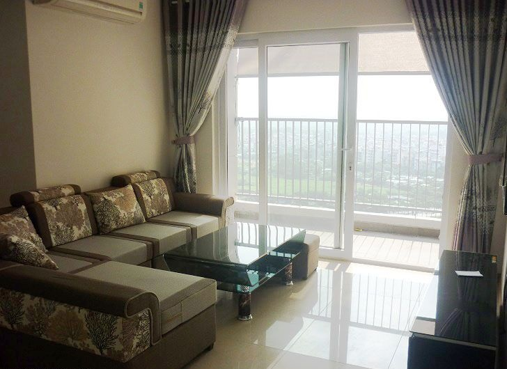 Modern apartment with 2 bedroom for rent in Golden Palace, Nam Tu Liem, Hanoi