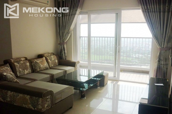 Modern apartment with 2 bedroom for rent in Golden Palace, Nam Tu Liem, Hanoi 1