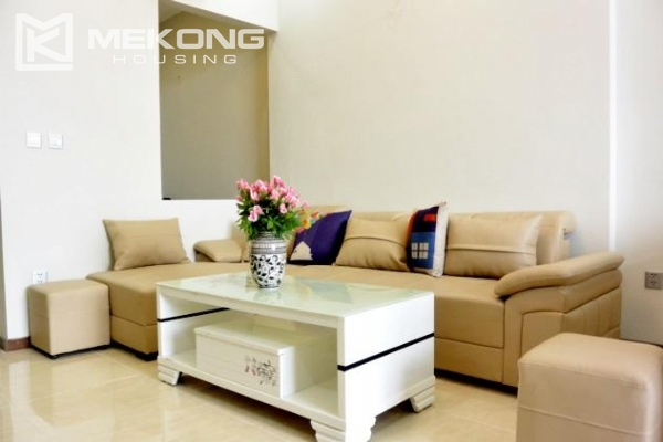 Modern apartment with 2 bedrooms for rent in Trang An Complex 1