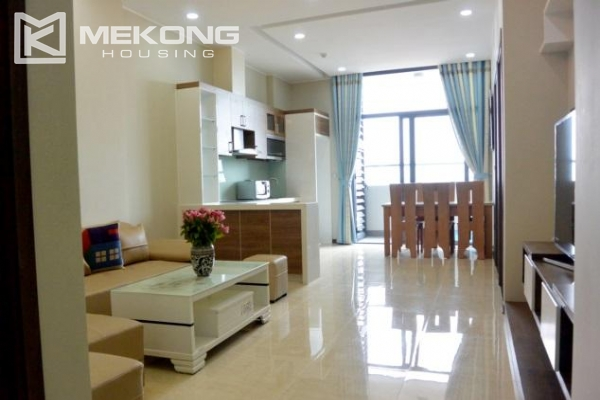 Modern apartment with 2 bedrooms for rent in Trang An Complex 2