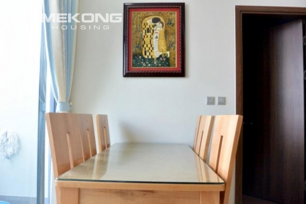 Modern apartment with 2 bedrooms for rent in Trang An Complex 3