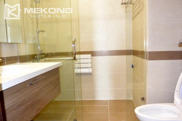 Modern apartment with 2 bedrooms for rent in Trang An Complex 6