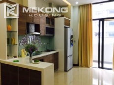 Modern apartment with 2 bedrooms on high floor in Trang An Complex