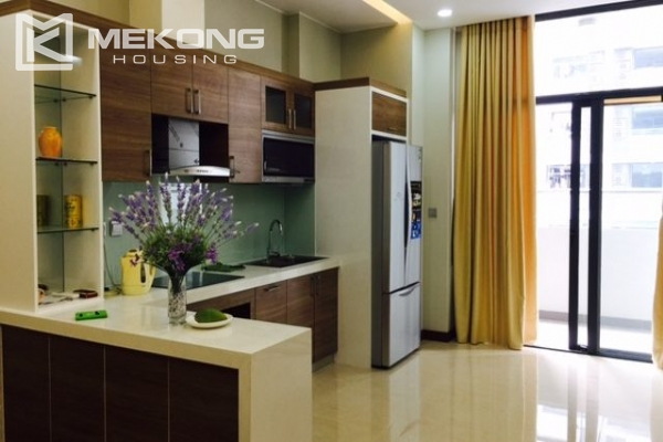 Modern apartment with 2 bedrooms on high floor in Trang An Complex 1