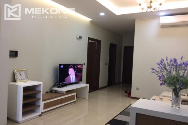 Modern apartment with 2 bedrooms on high floor in Trang An Complex 2