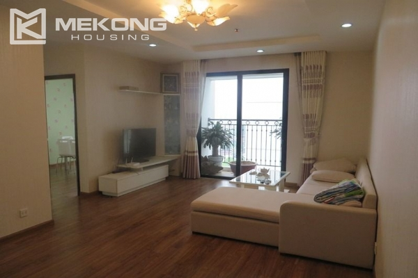 Modern apartment with 3 bedrooms for rent in Times City, Hai Ba Trung, Hanoi 2
