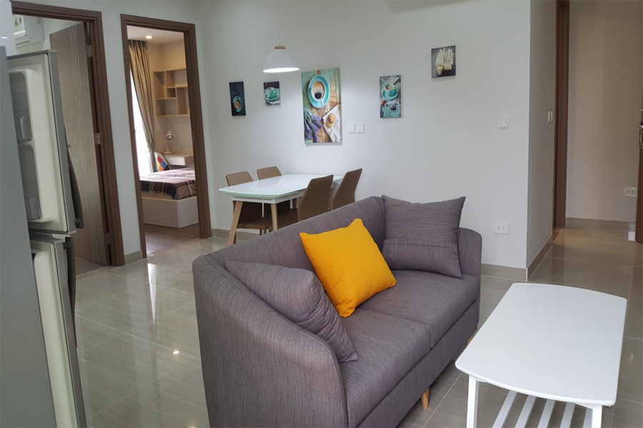 Modern design apartment with 2 bedrooms on high floor in The Link L3 Ciputra Hanoi 1
