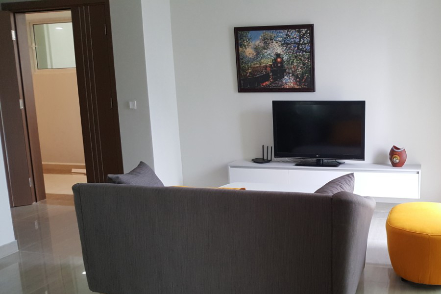 Modern design apartment with 2 bedrooms on high floor in The Link L3 Ciputra Hanoi 3
