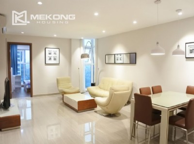 Modern design apartment with 3 bedrooms for rent in L3 The Link, Ciputra Hanoi