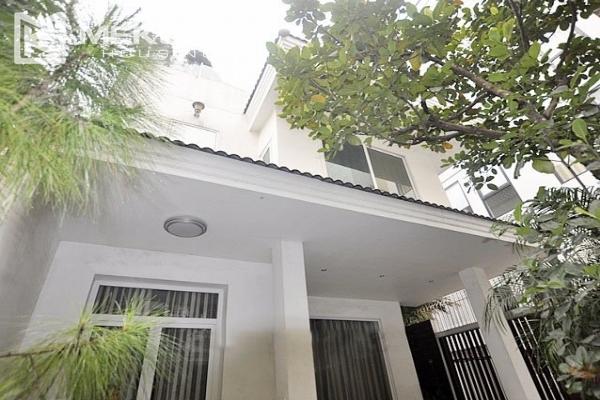 Modern designed villa with open living space for rent in Tay Ho district 2