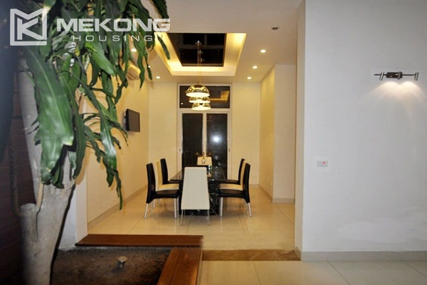 Modern designed villa with open living space for rent in Tay Ho district 5