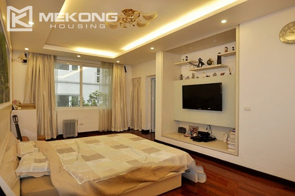Modern designed villa with open living space for rent in Tay Ho district 6