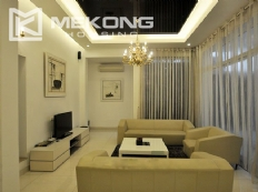 Modern designed villa with open living space for rent in Tay Ho district
