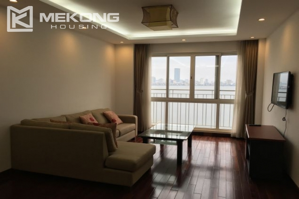 Modern furnished apartment with 3 bedrooms and lake view  in Westlake area, Hanoi 2