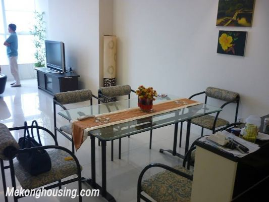 Modern furnished apartment with 3 bedrooms for rent at good price in Keangnam Landmark, Hanoi 4