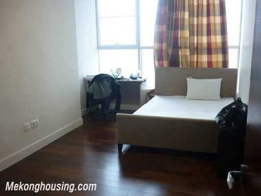 Modern furnished apartment with 3 bedrooms for rent at good price in Keangnam Landmark, Hanoi 12